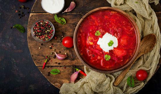 Еда из Восточной Европы для США